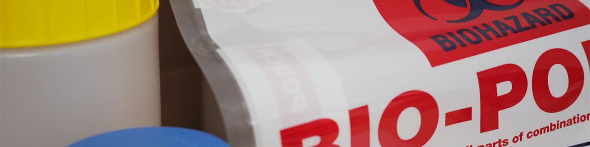 Bio hazard packaging