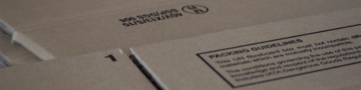 UN standard carton boxes